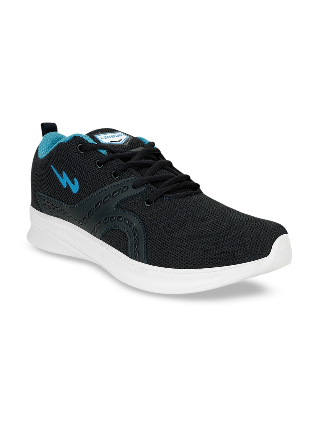 Blue Mesh LEAD Running Shoes
