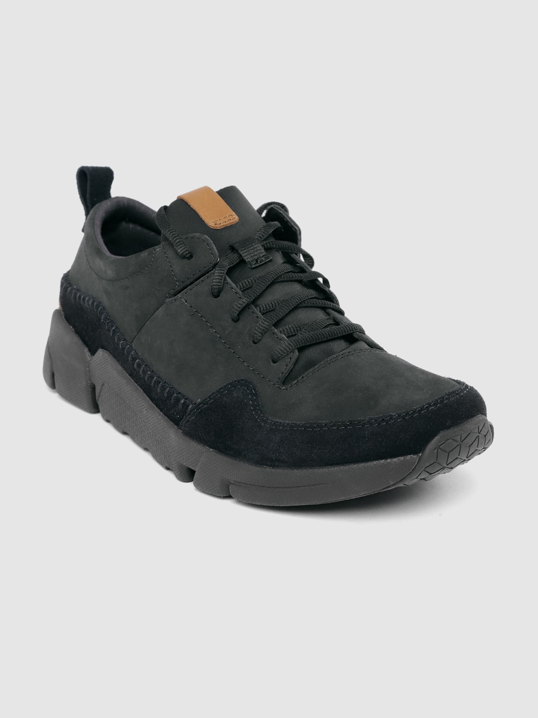 Black Nubuck Sneakers
