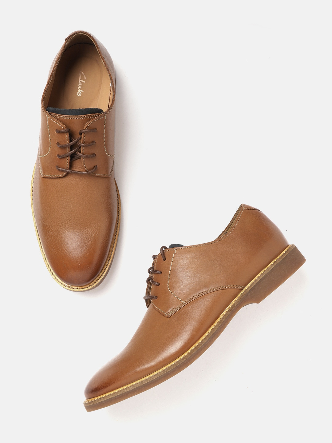 Tan Brown Derbys