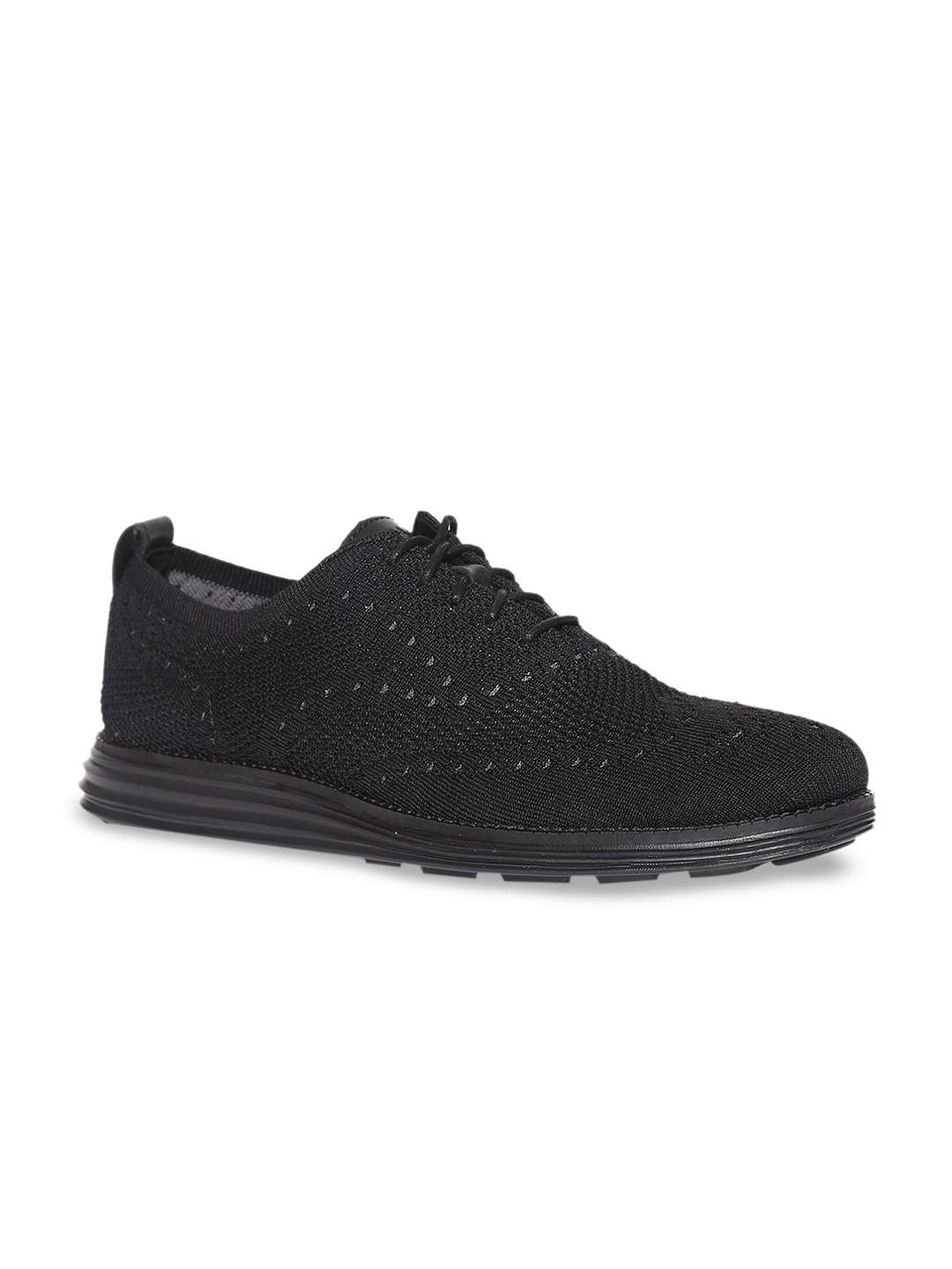 Black Originalgrand Stitchlite Wingtip Oxford Sneakers