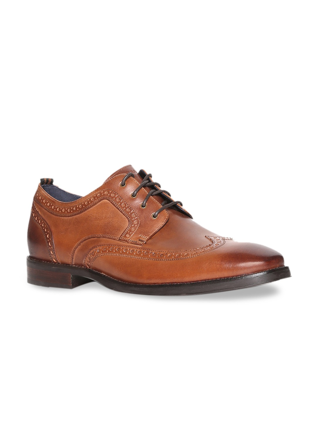 Tan Brown Formal Leather Brogues