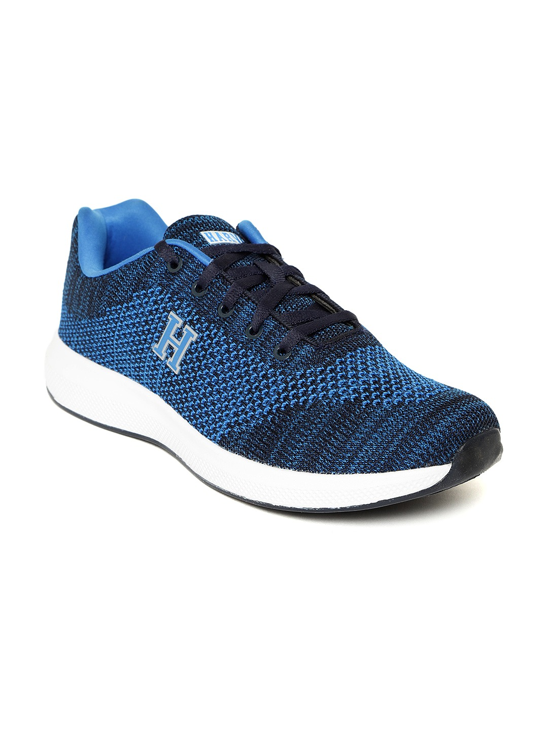 Blue Woven Design Sneakers