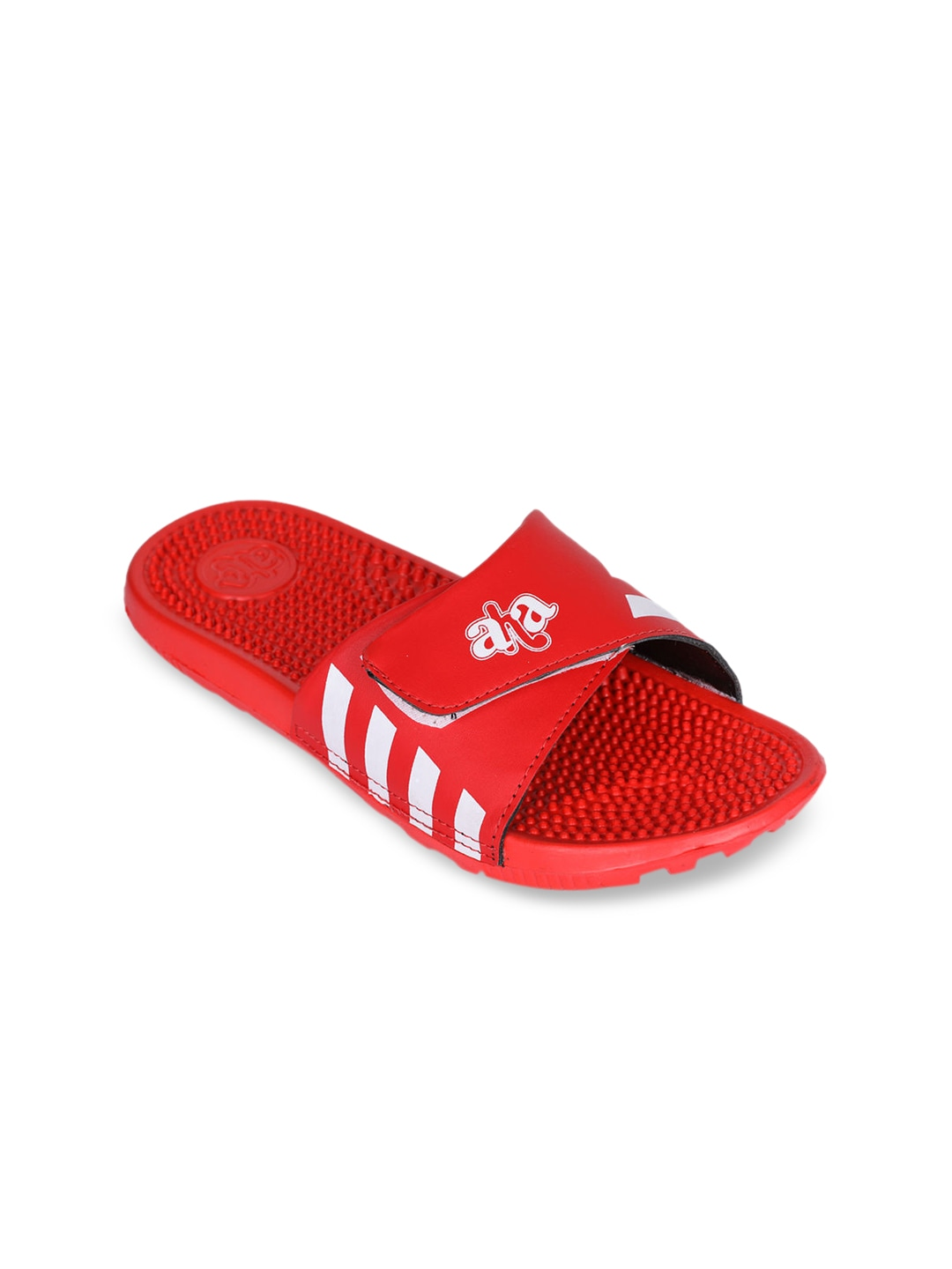 Red Solid Slip-On