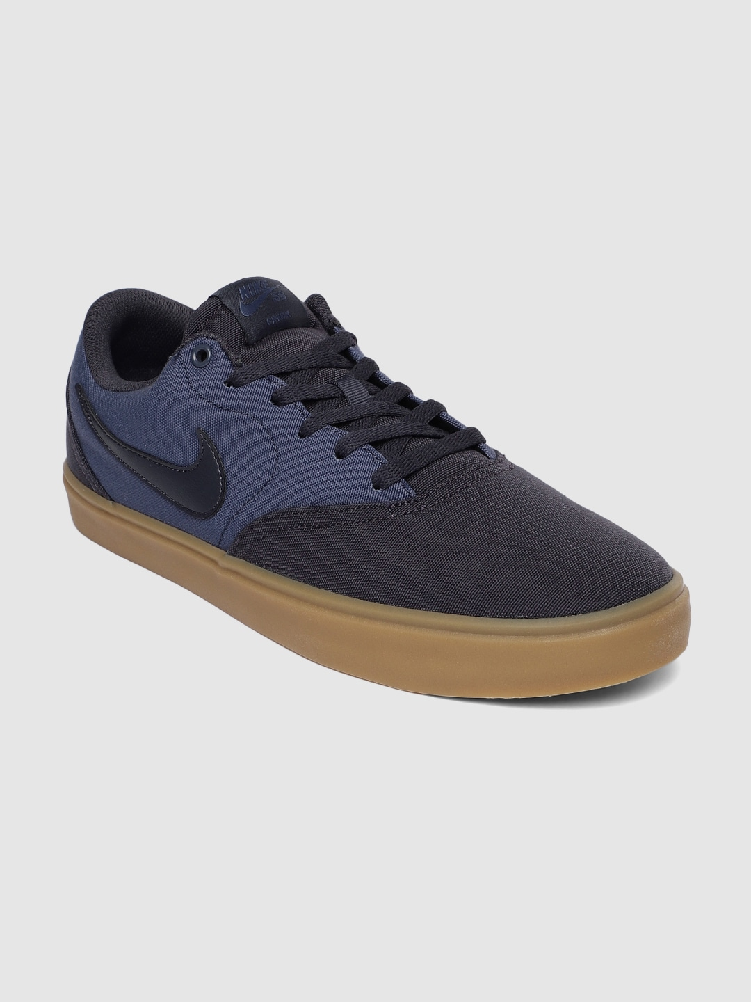 Navy Blue Skate Shoes