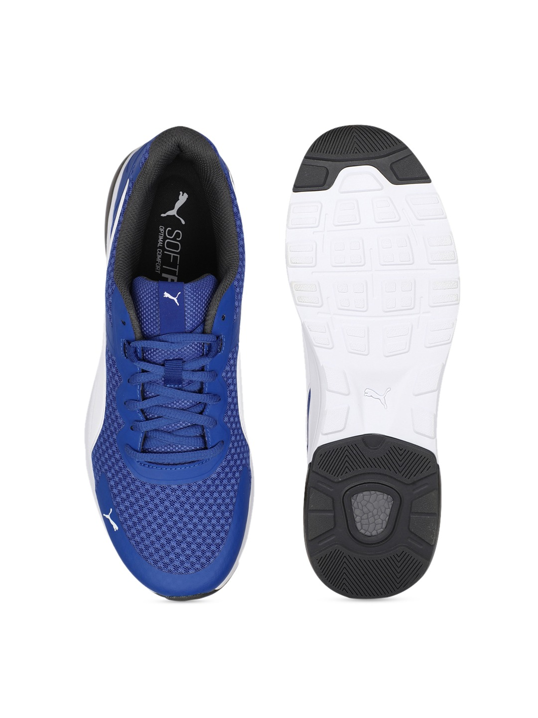 Blue Electron Running Shoes