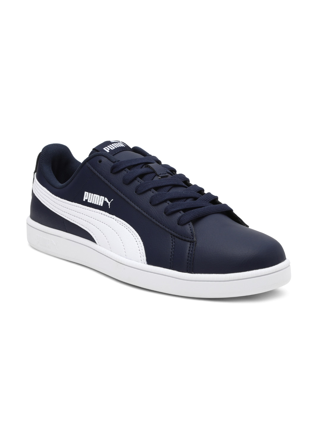 Blue & White UP Sneakers