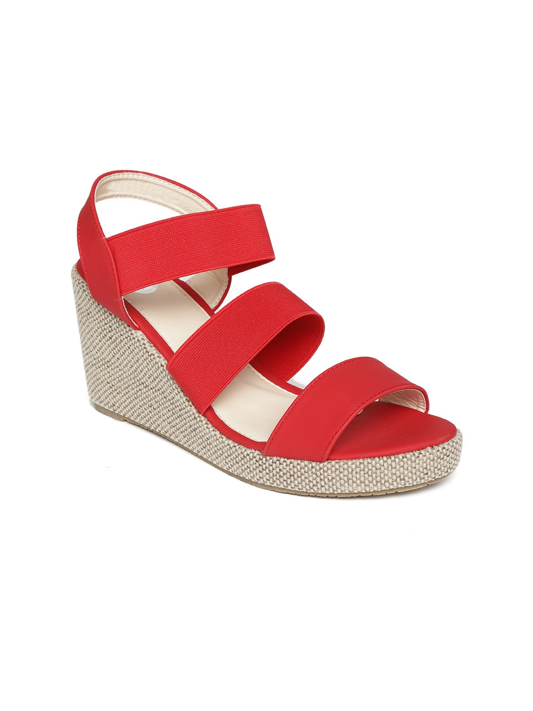 Red Solid Wedges