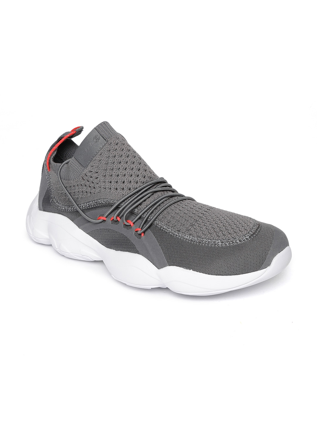 Charcoal Grey DMX Fusion Woven Design Sneakers