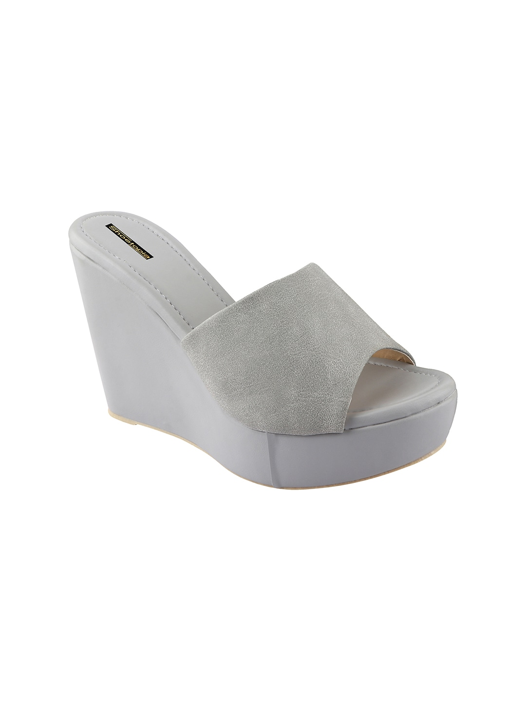 Grey Solid Wedges