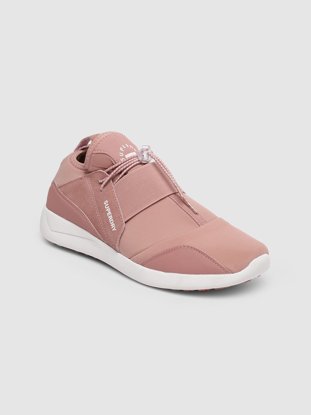 Pink SUPERLITE ELASTIC Running Shoes