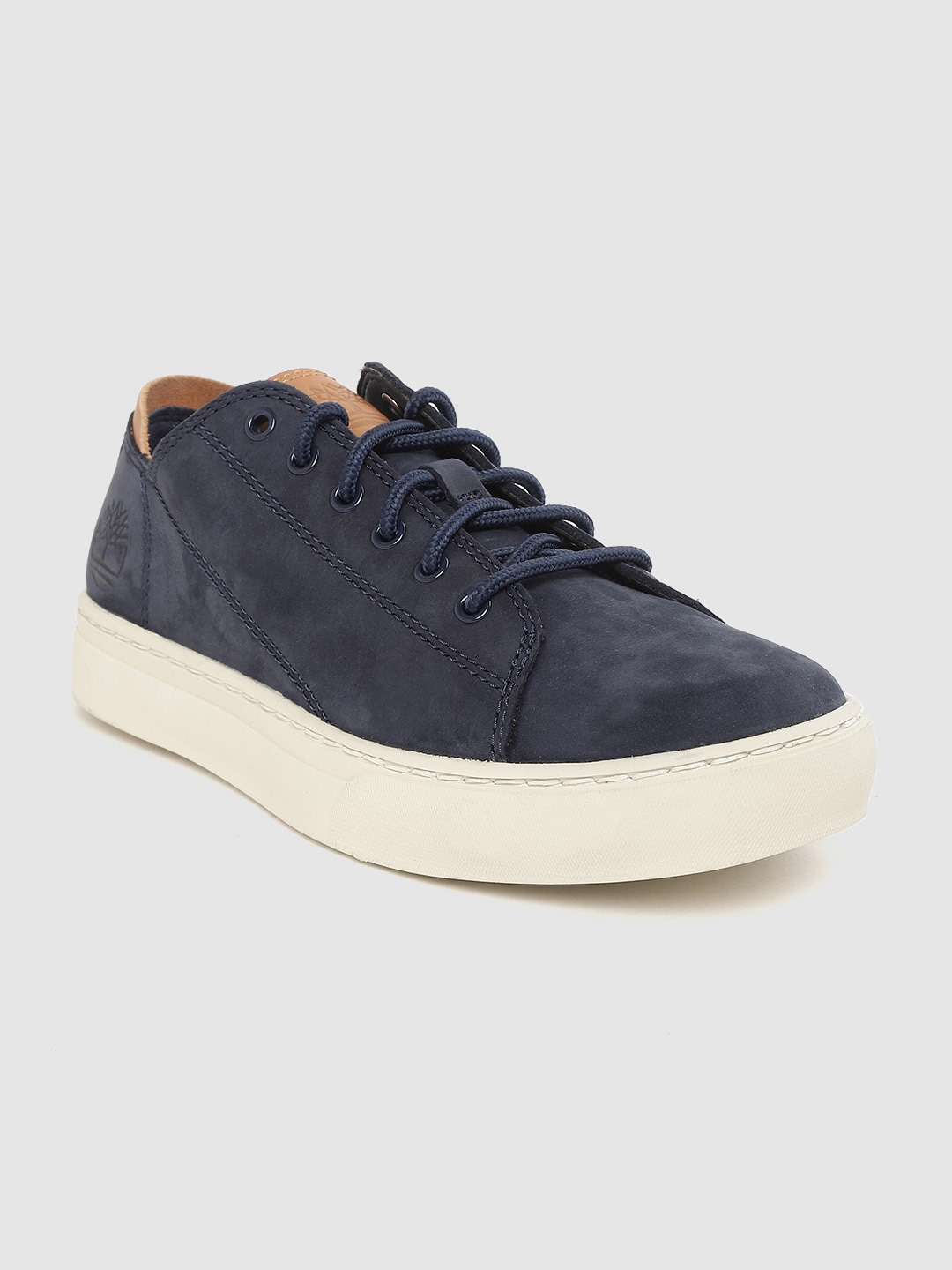 Navy Blue Adventure 2.0 Cupsole Modern Oxford Nubuck Sneakers
