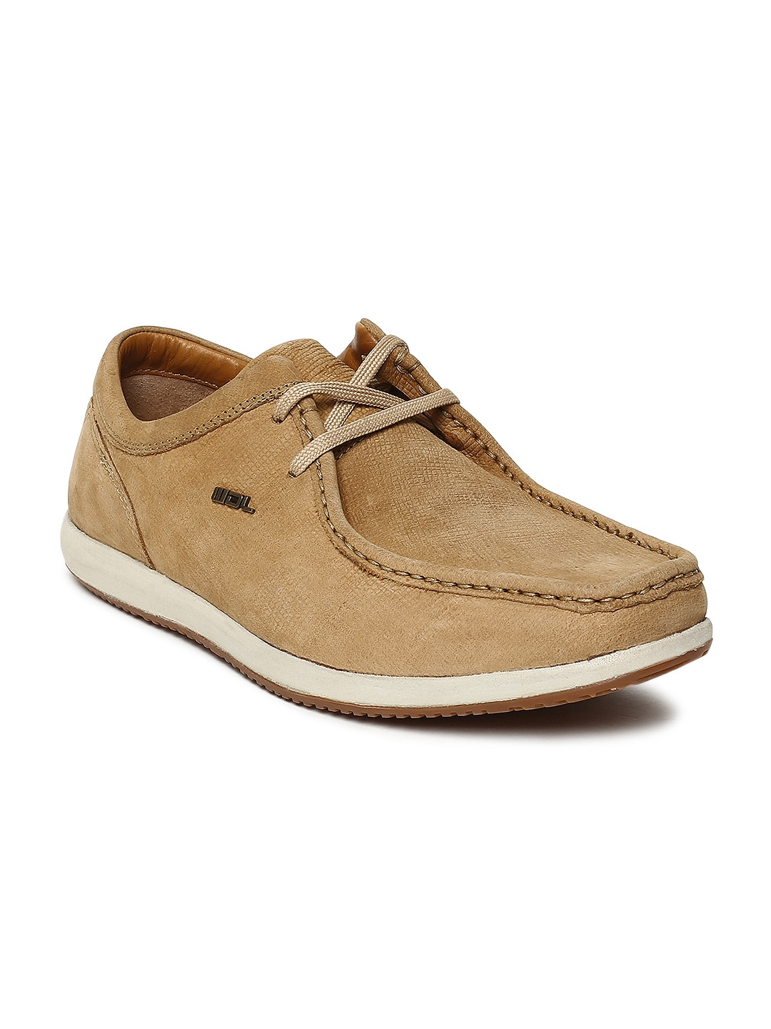 Camel Brown Nubuck Derbys