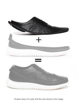 Black Duilio Skin of Customizable Shoes