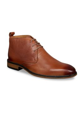 Tan Brown Formal Leather Derbys