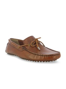 Brown Light Weight Driving Shoes