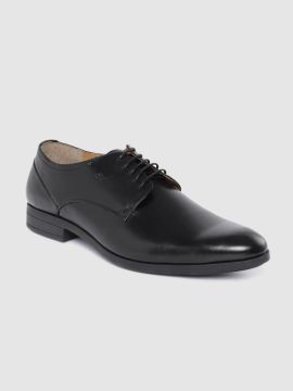 Black Leather Formal Derbys