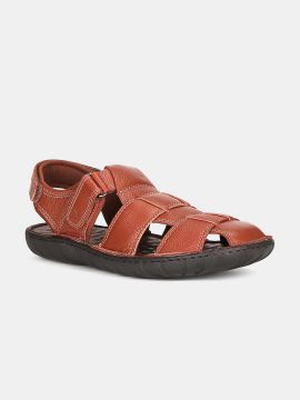 Brown Comfort Leather Sandals
