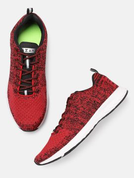 Red Glide Running Shoes