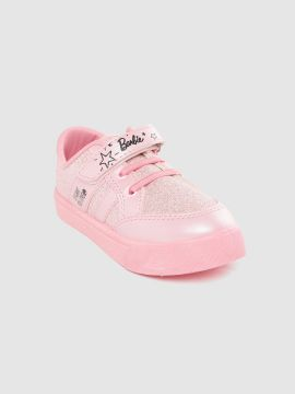 Pink Shimmer Sneakers