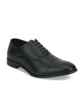 Black Solid Formal Oxfords