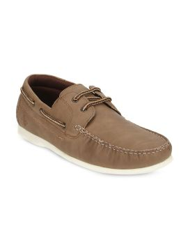 Camel Brown Boat Shoes
