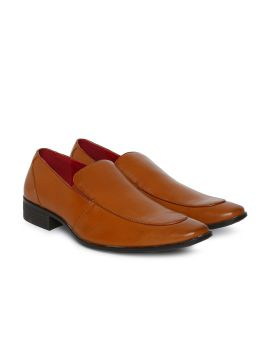 Brown Semi-Formal Slip-On Shoes