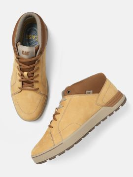 Brown Leather BRYSON Sneakers