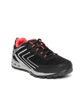 Black & Grey VENTRAILIA Razor 2 Outdry Running & Hiking Shoes