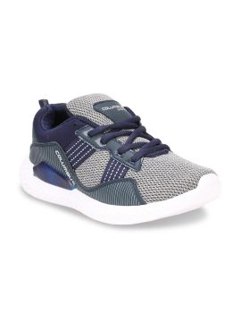Navy Blue & Grey Running Shoes