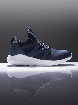 Navy Blue Running Shoes