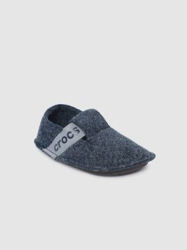 Navy Blue Solid Room Slippers