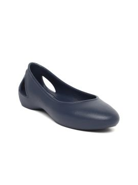Navy Blue Laura Ballerinas