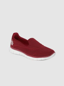 Maroon Slyptuck Walking Footgear