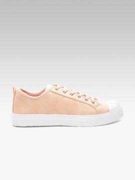 Peach-Coloured Sneakers