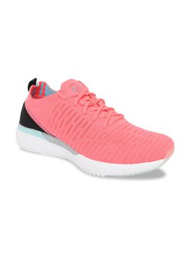 Pink & Black Running Shoes