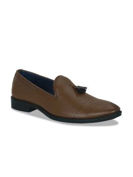 Tan Brown Loafers