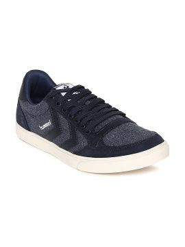 Navy Blue Stadil Washed Sneakers