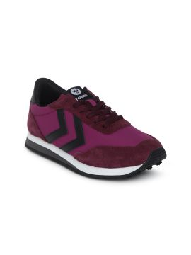 Pink & Maroon Helsinki Colourblocked Sneakers
