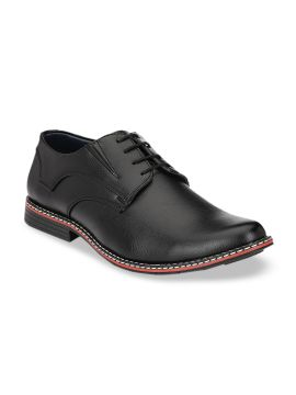 Black Solid Formal Derbys