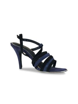 Navy Blue & Black Solid Gladiators