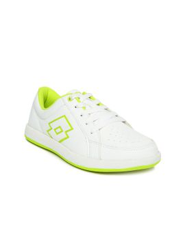 White Logo Plus Perforated Sneakers