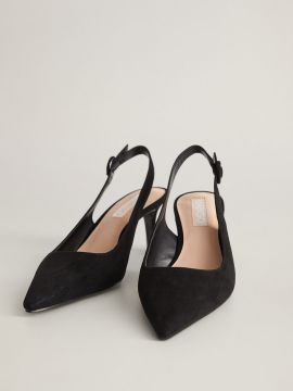 Black Solid Pumps