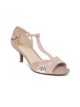 Dusty Pink Leather Sandals