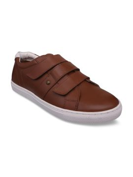Tan Leather Monks