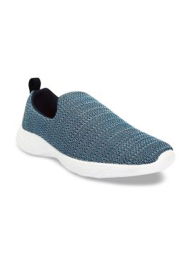Blue Mesh Mid-Top Training or Gym Shoes
