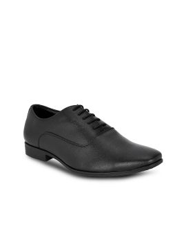 Black Solid Oxfords