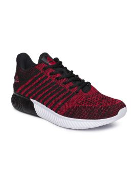 Black & Red Running Shoes