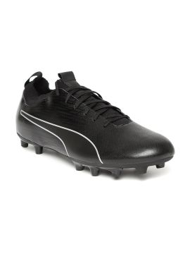 Black EvoKNIT II FG Football Shoes