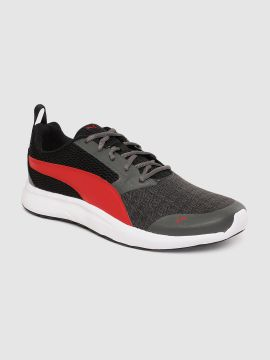 Black & Red Max Idp Running Shoes