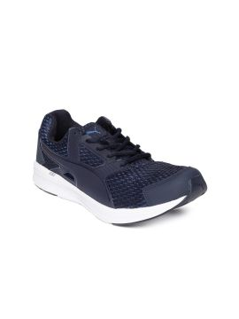 Navy Blue NRGY Diver IDP Running Shoes